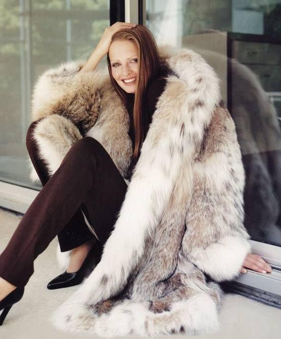 Big Lynx Fur Jacket | Rousse [FUR] | Pinterest | Coats ...