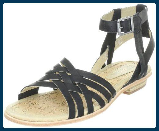 Timberland KATAMA STRAPPY SANDAL 42676, Damen Sandalen/Fashion-Sandalen, Schwarz (Black), EU 37.5 (US 6.5) - Sandalen für frauen (*Partner-Link)