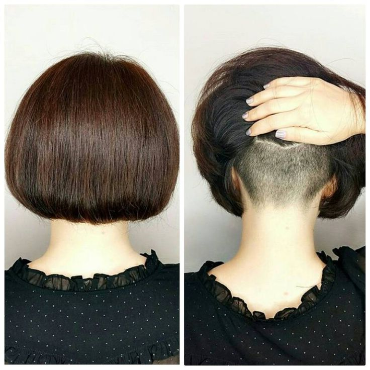 A short bob with an undercut by @aventa_hair_salon, Subscribe to see other hairstyles like that. #bob #bobhair #bobhaircut #bobhairstyle #shortbob #shorthair #shorthaircut #shorthairstyle #shorthairdontcare #shortnape #undercut #buzzednape #shavednape #nape #napeundercut #straight #haircut #hair #hairstyle #hairdresser #боб #бобкаре #каре #прическа #стрижка