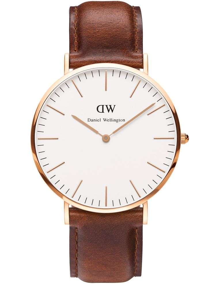 Klassisk ur med tynd urkasse - Daniel Wellington Classic St Andrews Rose Men 0106DW