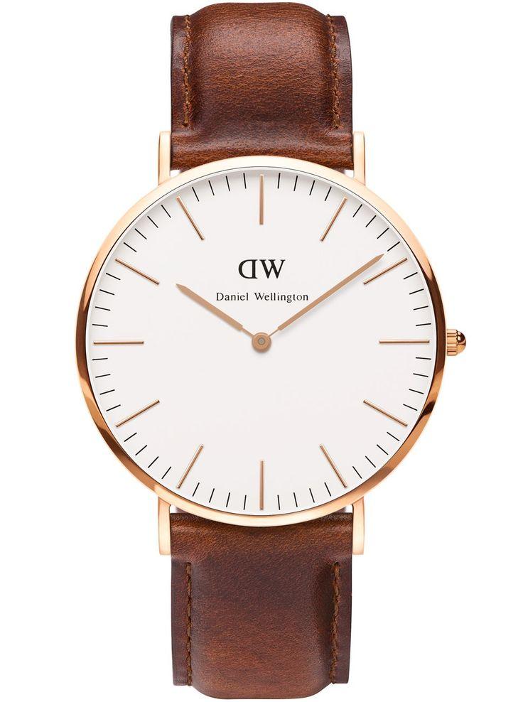 Klassisk ur med tynd urkasse - Daniel Wellington Classic St Andrews Rose Men 0106DW