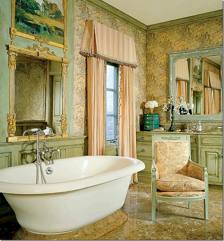 48 best ♔French-Inspired BATHROOM♔ images on Pinterest ...