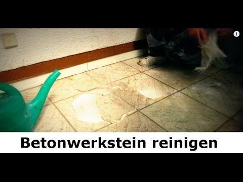 ✅✅ Betonwerkstein - Terrasse reinigen vom Stein-Doktor ✅✅