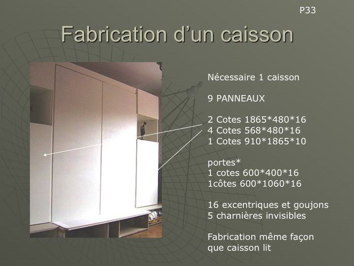 bricolage fabriquer un lit escamotable conseils des bricoleurs du forum diy pinterest d co. Black Bedroom Furniture Sets. Home Design Ideas