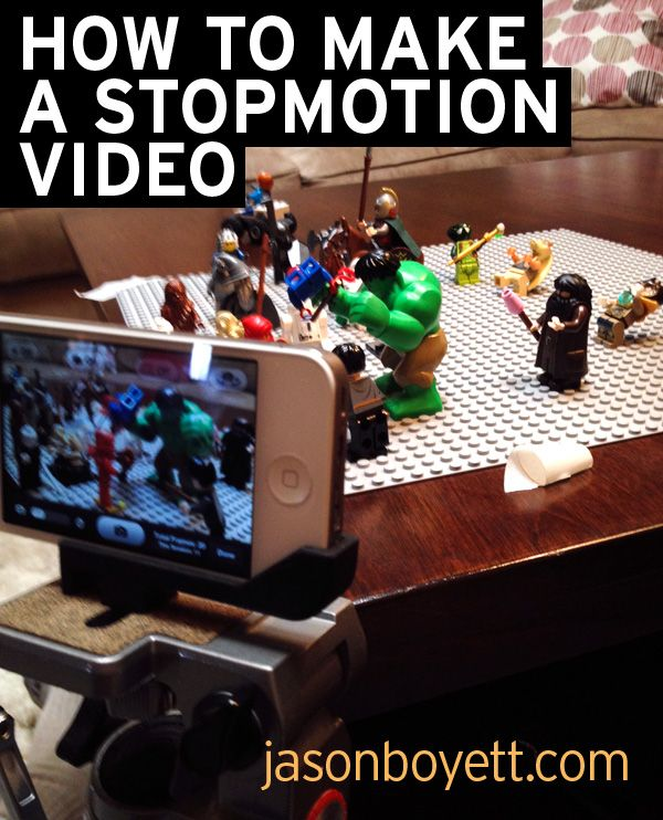 How to make a stop-motion video