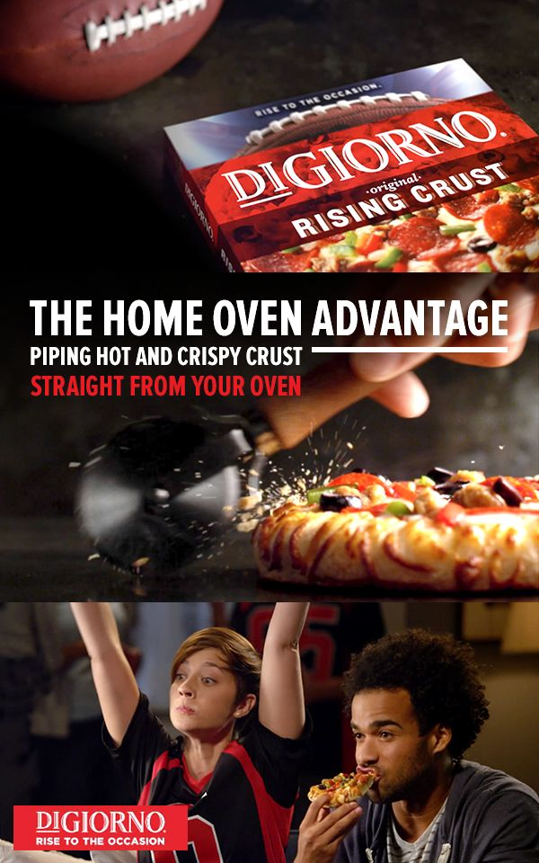 Stop Settling For Delivery And Make The Most Out Of Every Moment This Game Day With The Help Of Fresh Baked Digiorno Pi Frozen Pizza Nutrition Recipes Digiorno