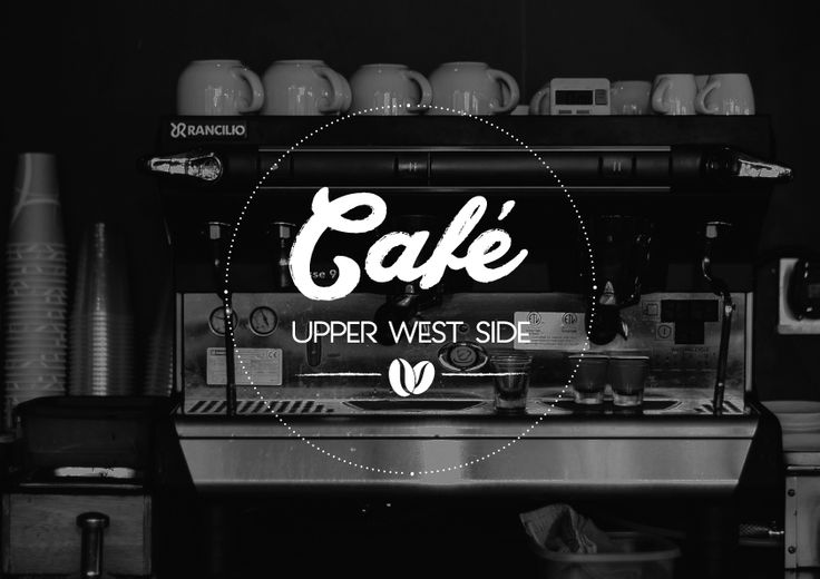 Logo Design for Upper West Side Cafe, by Egg Visual Communication. www.egg.com.gr