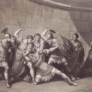 Now on the blog, Quiz: So You're the Emperor of Rome, How will you be Assassinated?  Here is the death of Caligula, who was stabbed backstage at a theatre in a conspiracy led by one of his military tribunes. He was stabbed 30 times, was only 29 years old, had been in power for less than 4 years.  #linkinbio #blog #history #rome #ancienthistory #ancient #empire #ancientrome #instagallery #instamuseum #historynerd #assassination #history #emperor