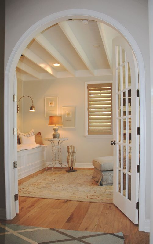 17 best images about dream home on pinterest fireplaces for Arched ceiling beams