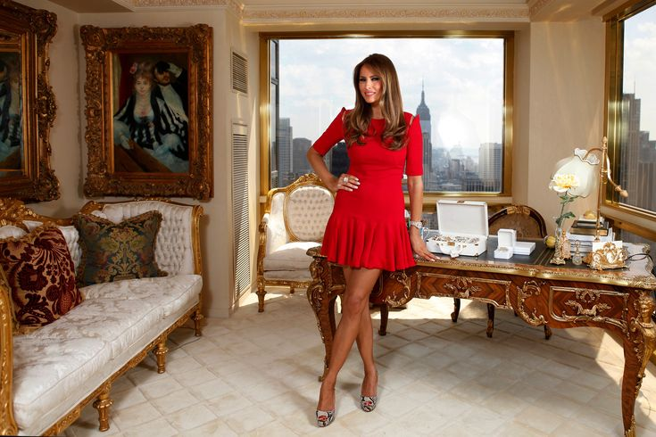 Inside Donald and Melania Trump's New York City Penthouse