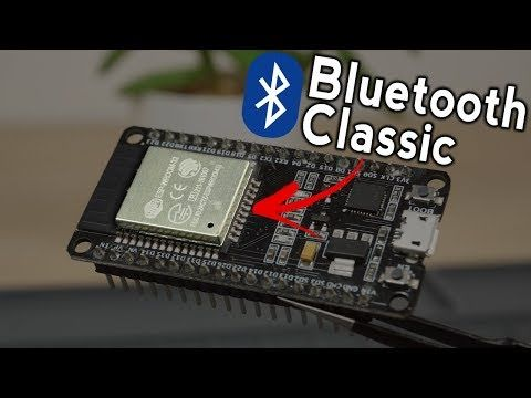 In this tutorial, you'll learn how to use ESP32 Bluetooth Classic
