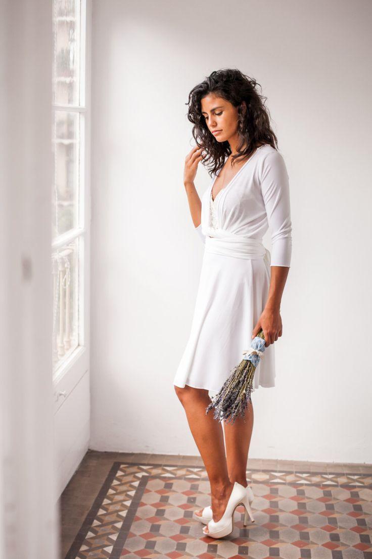 Informal wedding dress, reception dress, wedding dress, informal dress, casual wedding dress, civil wedding, last minute wedding dresses by mimetik on Etsy https://www.etsy.com/listing/465003850/informal-wedding-dress-reception-dress