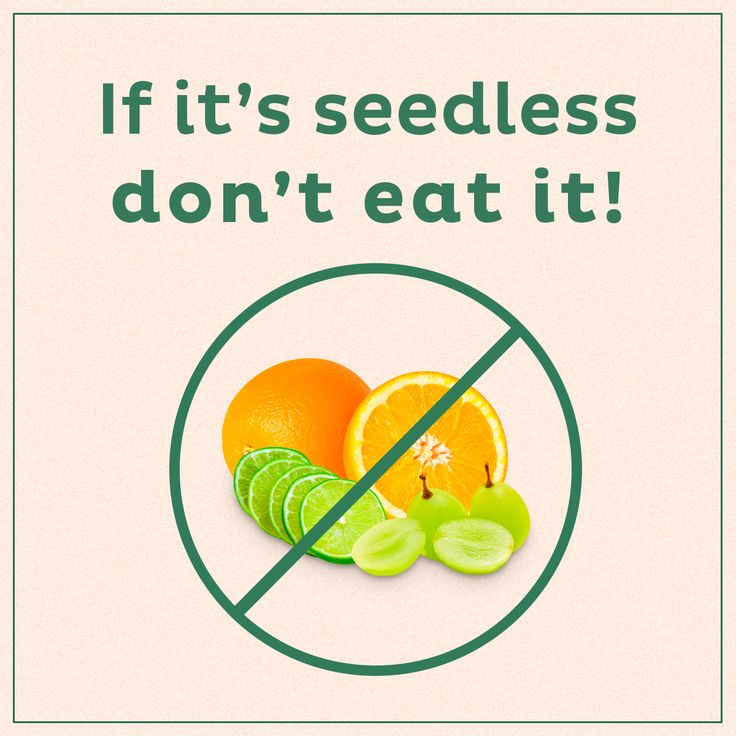 If you have trouble remembering which fruits or vegetables are hybrid and not recommended for consumption, follow this easy rule of thumb.