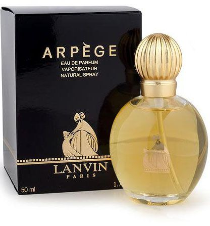Arpege Lanvin perfume – a fragrance for women since 1927. Top notes are: bergamot, aldehide, peach, orange bloom, honeysuckle, orris. In the heart there are: rose, jasmine, ylang-ylang, coriander, sensitive plant, tuberose, violet, and geranium. The base consists of: sandal, vetiver, patchoulis, vanilla and musk.