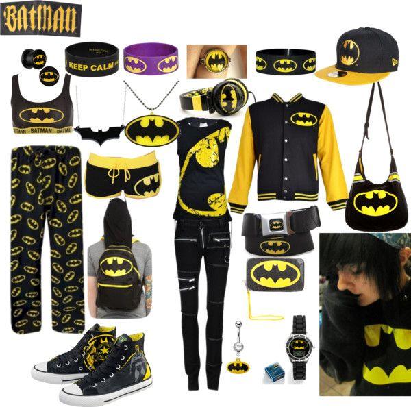 """Batman Obsession"" by walkingdeadnerd ❤ liked on Polyvore"