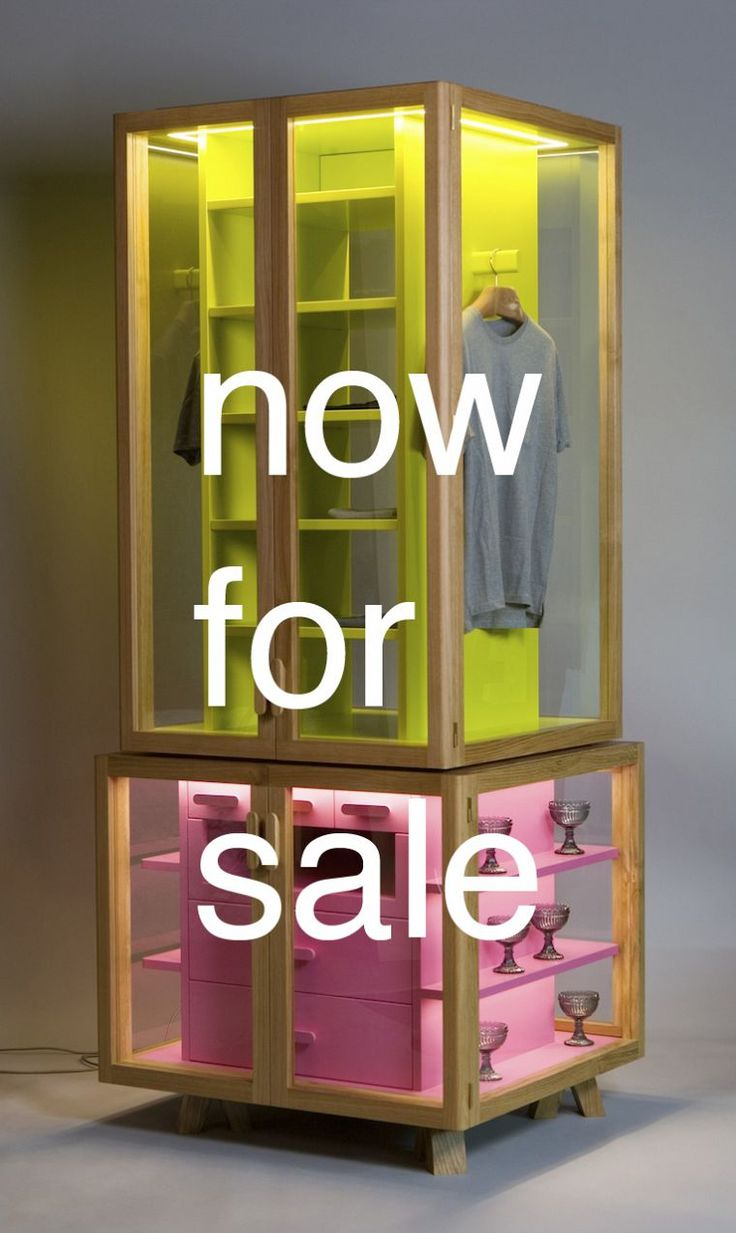Ropero by Hierve  http://www.en.hierve.com/projects/wardrobe-system/#topAnchor