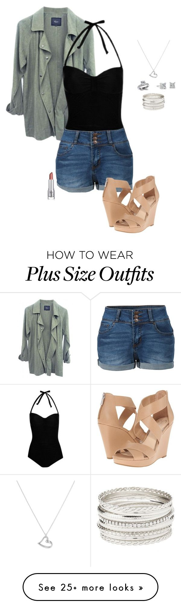 """""""Untitled #4447"""" by gone-girl on Polyvore featuring George, LE3NO, Charlotte Russe, Jessica Simpson, Argento Vivo, Fantasy Jewelry Box and Blue Nile"""