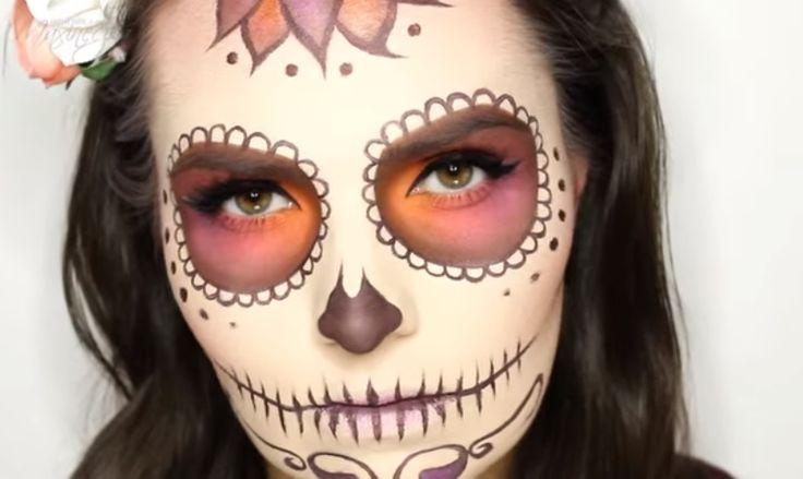"""""""Sencillo y Elegante Maquillaje de Catrina""""  –  Animx Animx"""