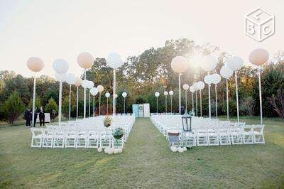 Ballons géants mariage