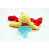 "Wubbanub Plush Pacifier ""Duck"" (Baby Product)By Respironics"