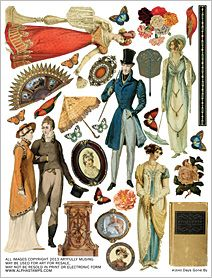 Days Gone By Collage Sheet