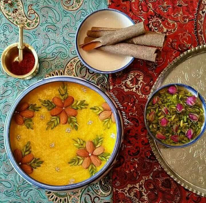 Cinnamon, saffron and rose petals are the most popular spices used in Iranian confectionary   A10  Iranic