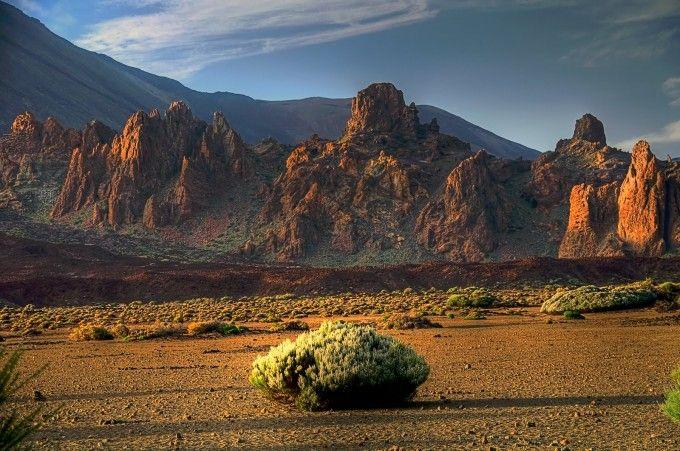 Llano de Ucanca. Tenerife. Islas Canarias