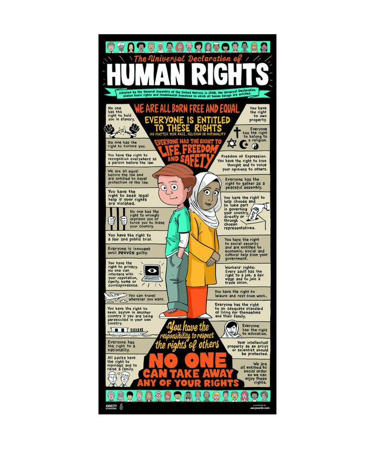 universal human rights Human rights are universal and every person around the world deserves to be treated with dignity and equality basic rights include freedom of speech, privacy, health, life, liberty and security, as well as an adequate standard of living while governments have the duty to protect individuals.