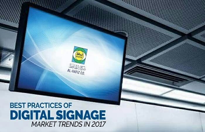 Digital Signage is evolving every day into a captivating and technologically advanced industry. Keeping up with the evolution process will be necessary for all those who are part of this industry. Continue Reading: http://www.alhafiz.com/blog/index.php/2017/10/20/digital-signage-market-trends-2017-2018-in-kuwait/ #AlHafiz #Kuwait #AlHafizServices #Onestopshop #signage #technology #industry #digital #trend #print