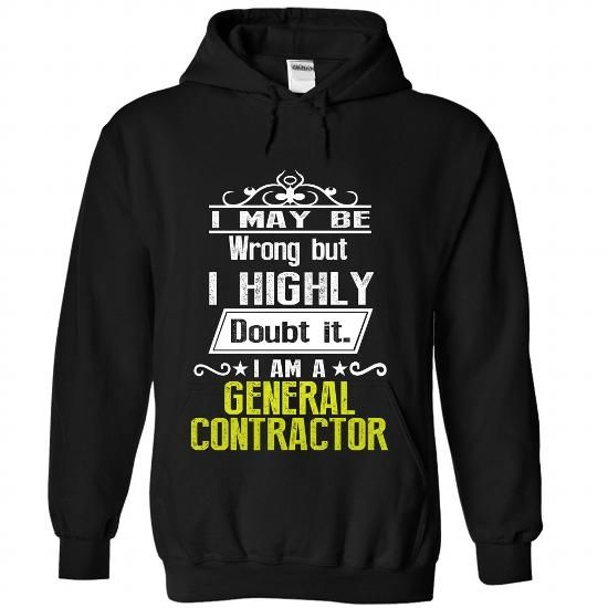 GENERAL CONTRACTOR #black tee #southern tshirt. BEST BUY  => https://www.sunfrog.com/No-Category/GENERAL-CONTRACTOR-3414-Black-Hoodie.html?68278