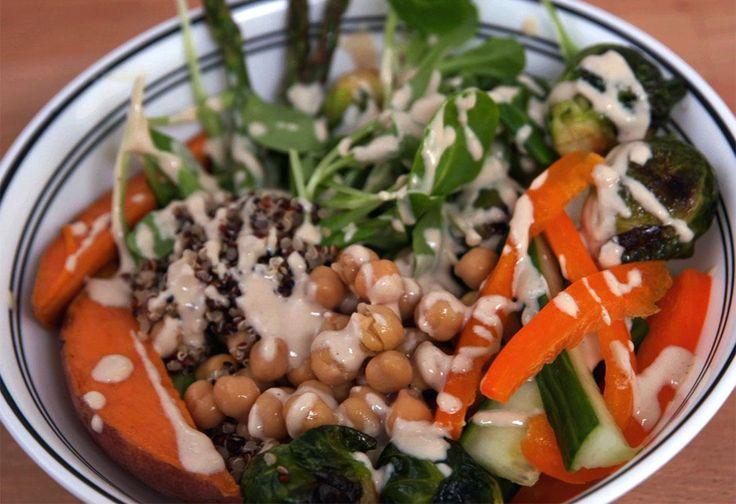 Bol repas prêt en moins de 1 minute grâce à un bon «meal prep»!