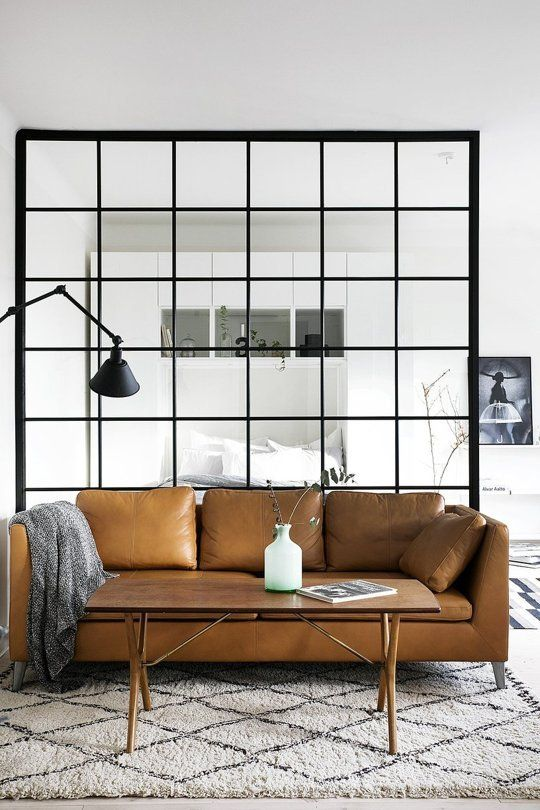 A Masculine Color Combo for Rooms: Black & Tan | Apartment Therapy