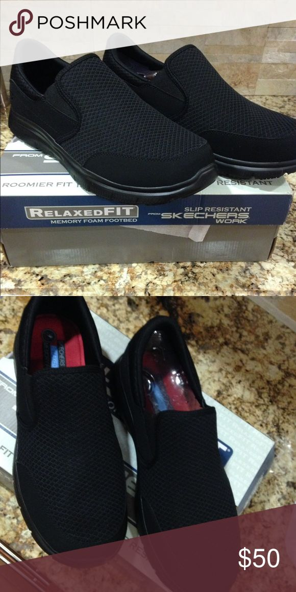Sketchers memory foam men's shoes Brand new in box!! Skechers Shoes Athletic Shoes
