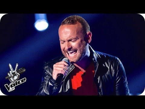 Kevin Simm performs 'Chandelier' - The Voice UK 2016: Blind Auditions 4 - YouTube