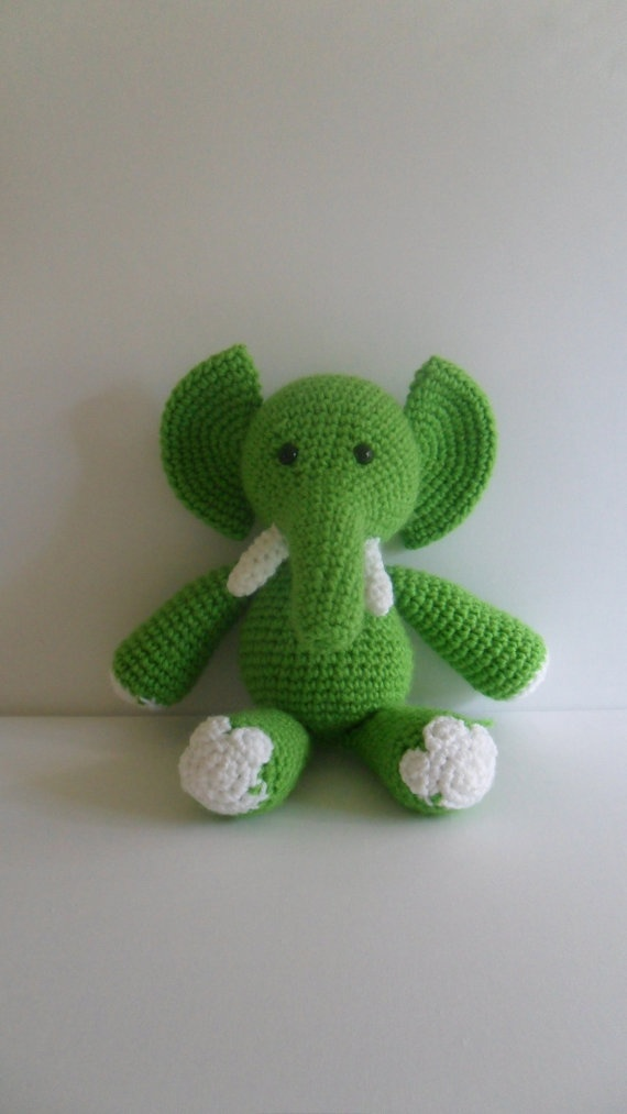 Crochet Elephant : ... Crochet Toys, Crochet Elephant, Crochet Amigurumi, Amigurumi Dolls