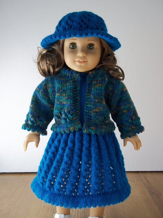 The 612 Best Doll Clothes Knit Or Crochet Images On Pinterest