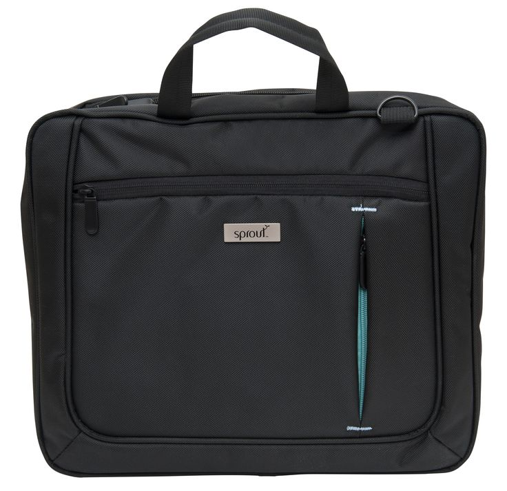 Form & function at an affordable price. Featuring simple, sophisticated styling, this Briefcase is made from the strongest and most durable materials. #case #sprout #freedomtogrow #mac #briefcase #laptop #black #technology #electronics #device #bestoftheday #sproutaus