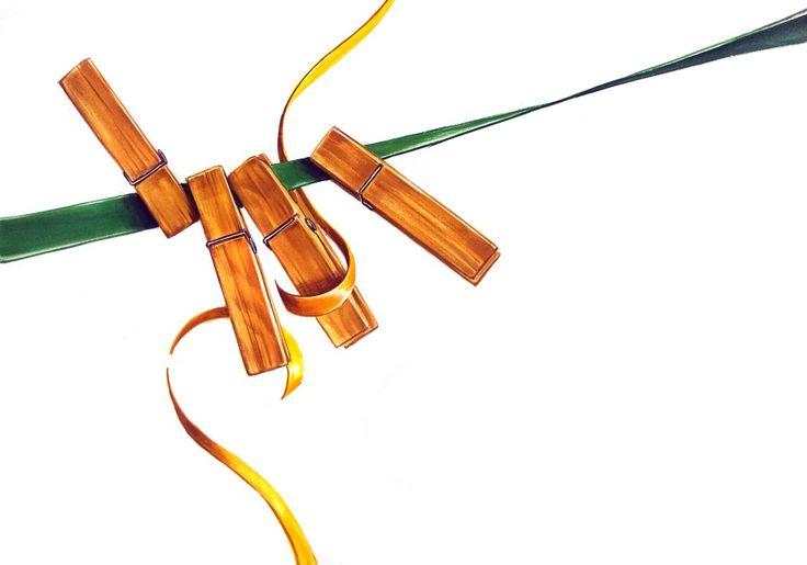 군집을 활용한 기초디자인 포인트 구성 (나무집게, 리본끈 개체표현) : 네이버 블로그