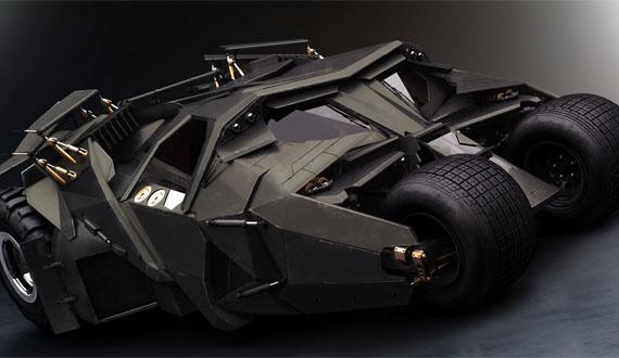New batmobile for Batman 3: The Dark Knight Rises