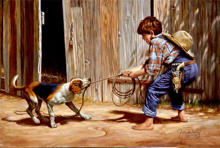 just a cowboy buckaroo Jim Daly