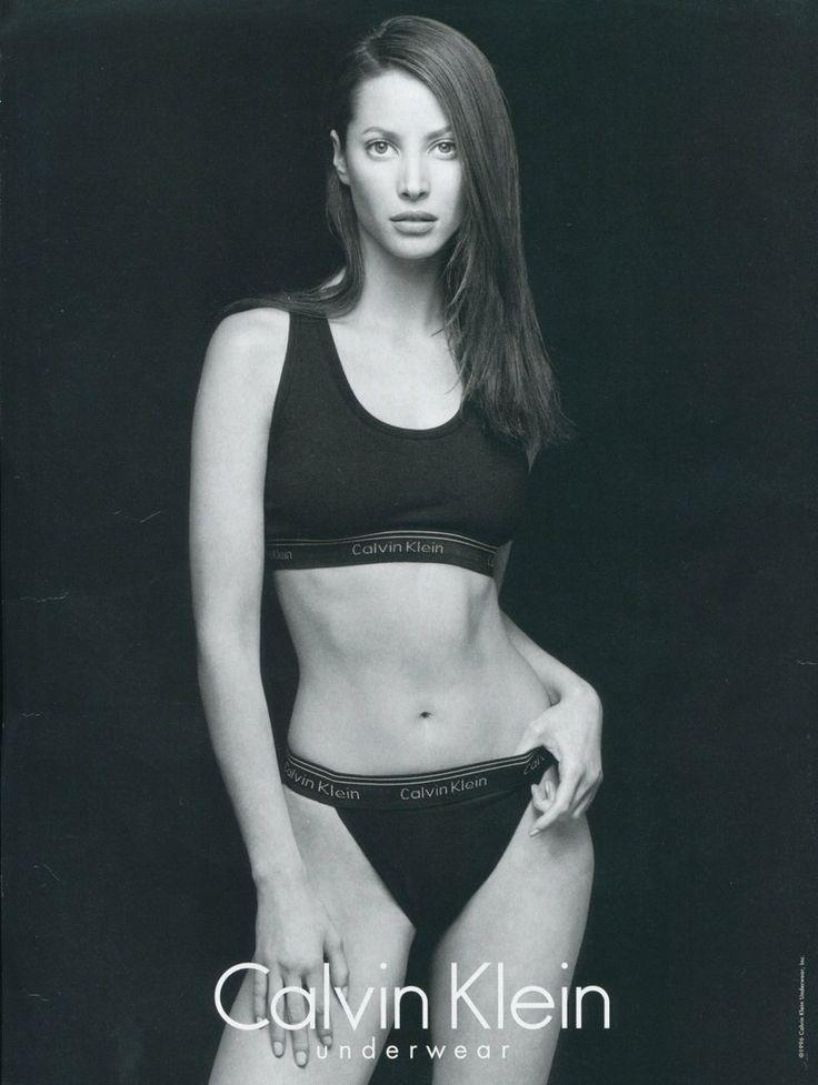 Throwback Thursday | Christy Turlington for Calvin Klein Underwear 1995 Ads