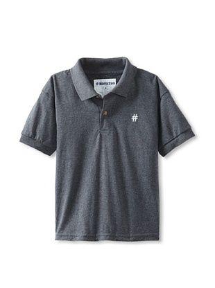 66% OFF Lunchbox Kid's Short Sleeve Polo Tee (Dark Heather)