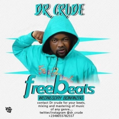 Mp3 Download: Free Beat: Dr Crude - Shake Am Off