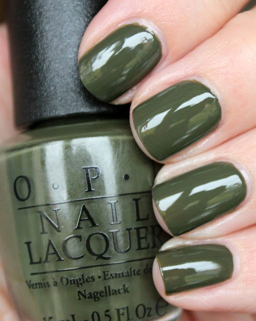 OPI Suzi - The First Lady of Nails | NAILTASTIC | Bloglovin' / OPI Suzi - The First Lady of Nails is a army green creme