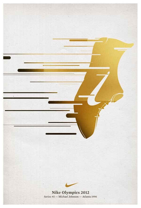 Creative take on integrating vector pen paths into motion line blurs. For the Nike Olympics 2012.
