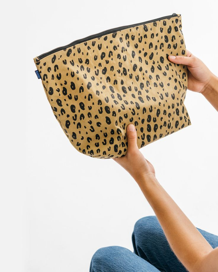 Carry All Pouch Large - Leopard