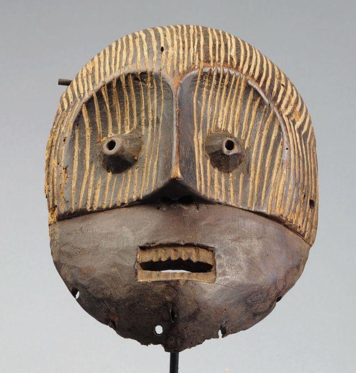 Masque METOKO Congo Belge Arts premiers Africain Africa mask masker Lega 2 | eBay