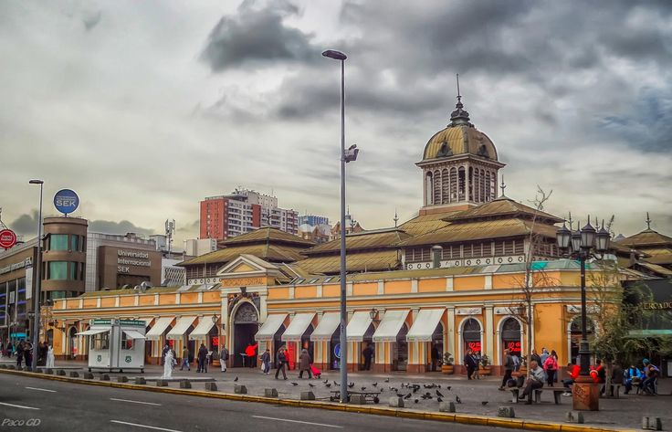 Mercado Central, Santiago de Chile by Francisco Garcia Diaz on 500px