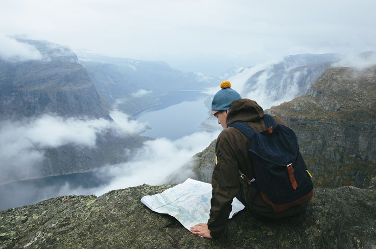 Kombai Hat & Waris 100% Recycled Denim Backpack. Photographed by Konsta Linkola for COSTO