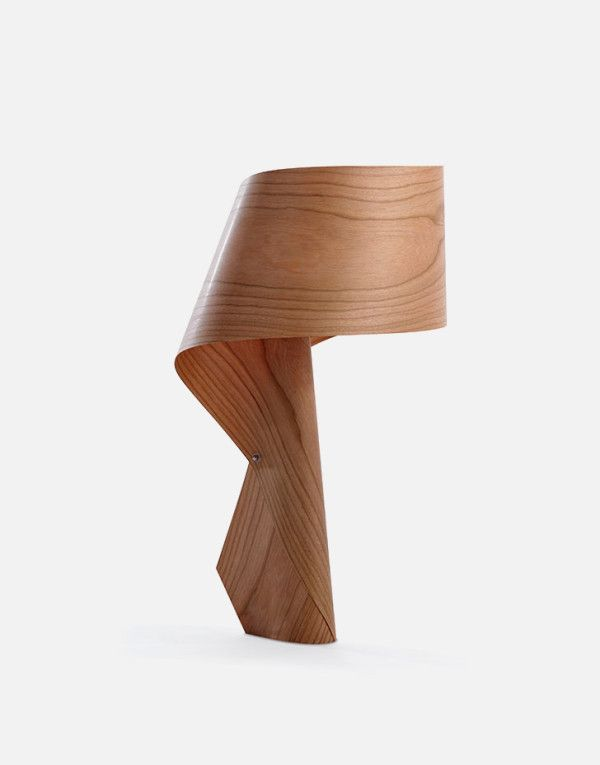 High Quality Created By Irish Designer Ray Power For Spain Wood Veneer Lamp Maker LZF,  The Air MG Is A Series Striking Table Lamp Made Of Polywood. Pictures Gallery